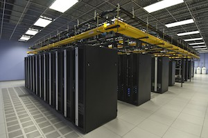 Rice University Data Center, Carlos Jimenez; room of servers
